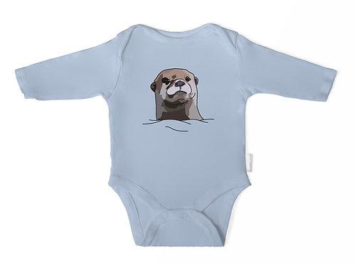 Otter Long Sleeve Baby/Toddler Onesie