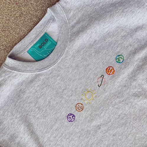 Custom Hand Embroidered T-shirt/Jumper