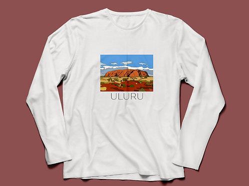 Uluru T-shirt Long Sleeve V2