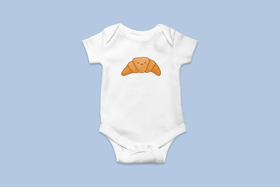 Happy Croissant Baby/Toddler Onesie