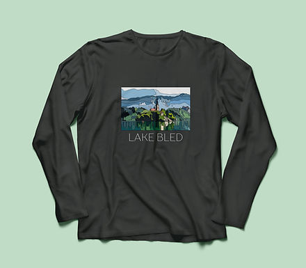 Lake Bled T-shirt Long Sleeve V2