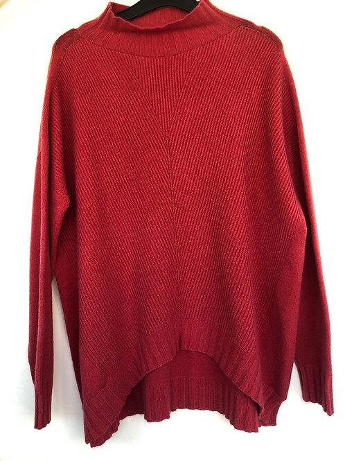 Peruzzi - dusky coral cosy jumper