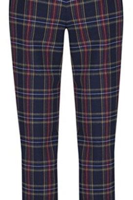 Robell - Plaid 'Bella' trouser