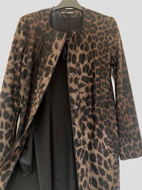 Betty Barclay- long animal print jacket
