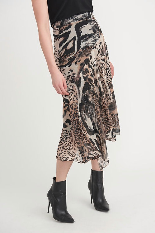 Joseph Ribkoff Animal Print Floaty Skirt