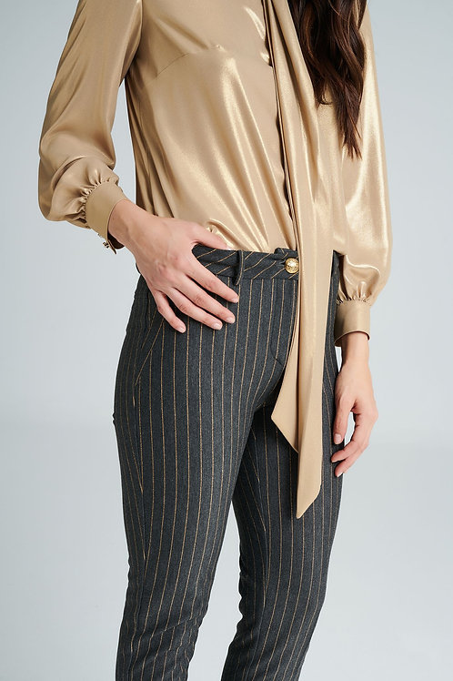Badoo - gold sheen blouse