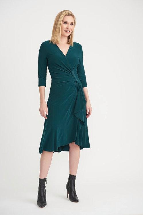 Joseph Ribkoff Luxury Teal Dress