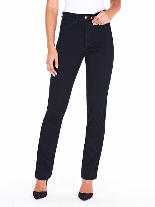 FDJ - Dark blue love denim Suzanne straight leg jeans