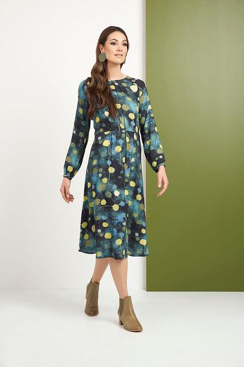 Foil - Multicoloured spot print dress