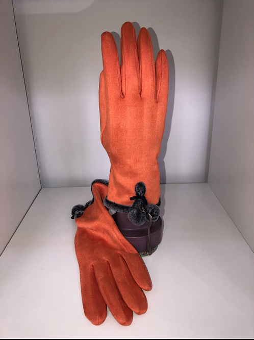 Powder - Orange gloves