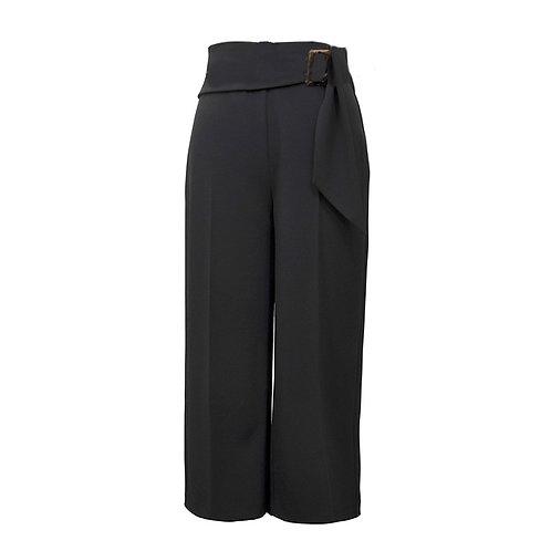 Joseph Ribkoff - Crepe pull on cropped culottes