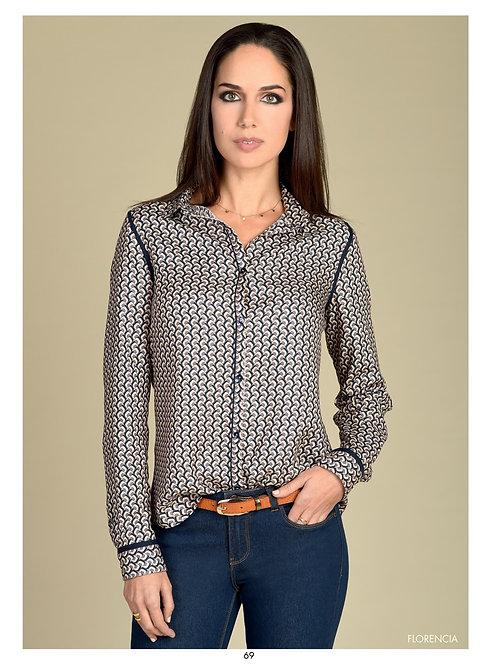 Bariloche - multicoloured printed shirt