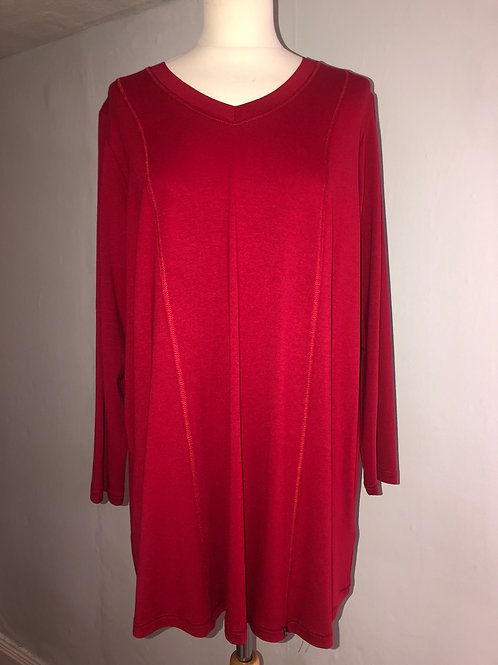 Q'neel - Red Jersey Tunic
