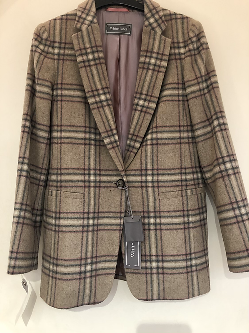 White Label - check blazer jacket