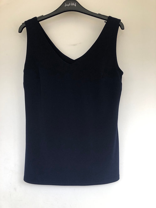 Joseph Ribkoff - Navy Luxury cami vest with lined front