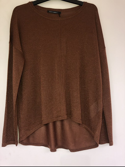 Betty Barclay - Copper sparkly light jumper