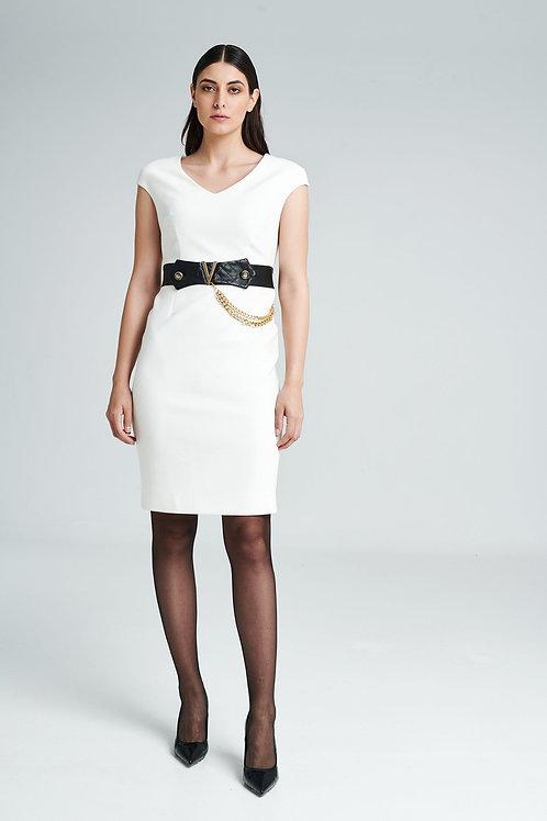Badoo - stylish black and white dress
