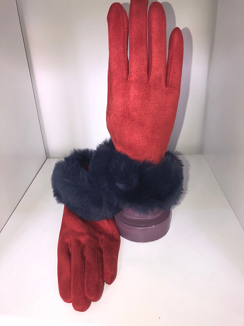 Powder - Red and blue gloves