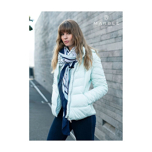 Marble -Mint 2 in one puff jacket/gilet