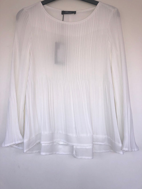 Peruzzi - White pleated blouse