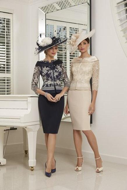 Veni Infantino - Navy and silver dress