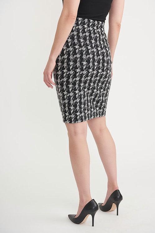 Joseph Ribkoff - Black and White Pencil Skirt