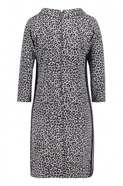 Betty Barclay - grey & black animal print dress