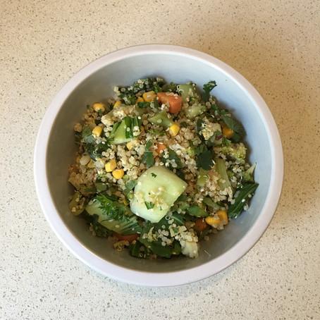 2 Cup Quinoa & Vegetable Salad