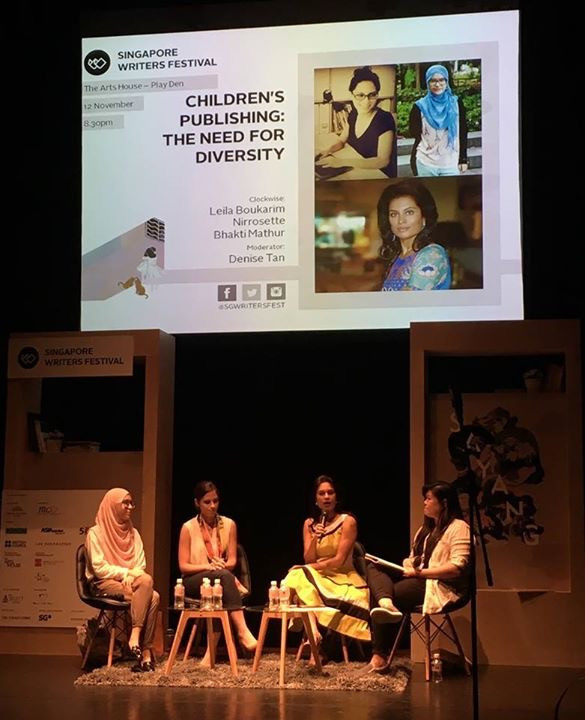Children's Publishing: The Need for Diversity; Panel at the Singapore Writers Festival