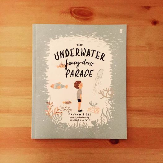 The Underwater Fancy-Dress Parade by Davina Bell - A Picture Book Review by My Quiet Adventures, Picture Books for Highly Sensitive Children