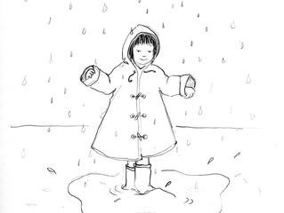 #SketchySunday: Rain Don't Go Away!