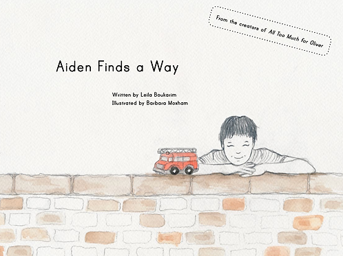 'Aiden Finds a Way' (Premium Copy)