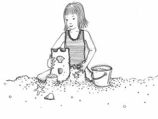 #SketchySunday: Beach Cutie
