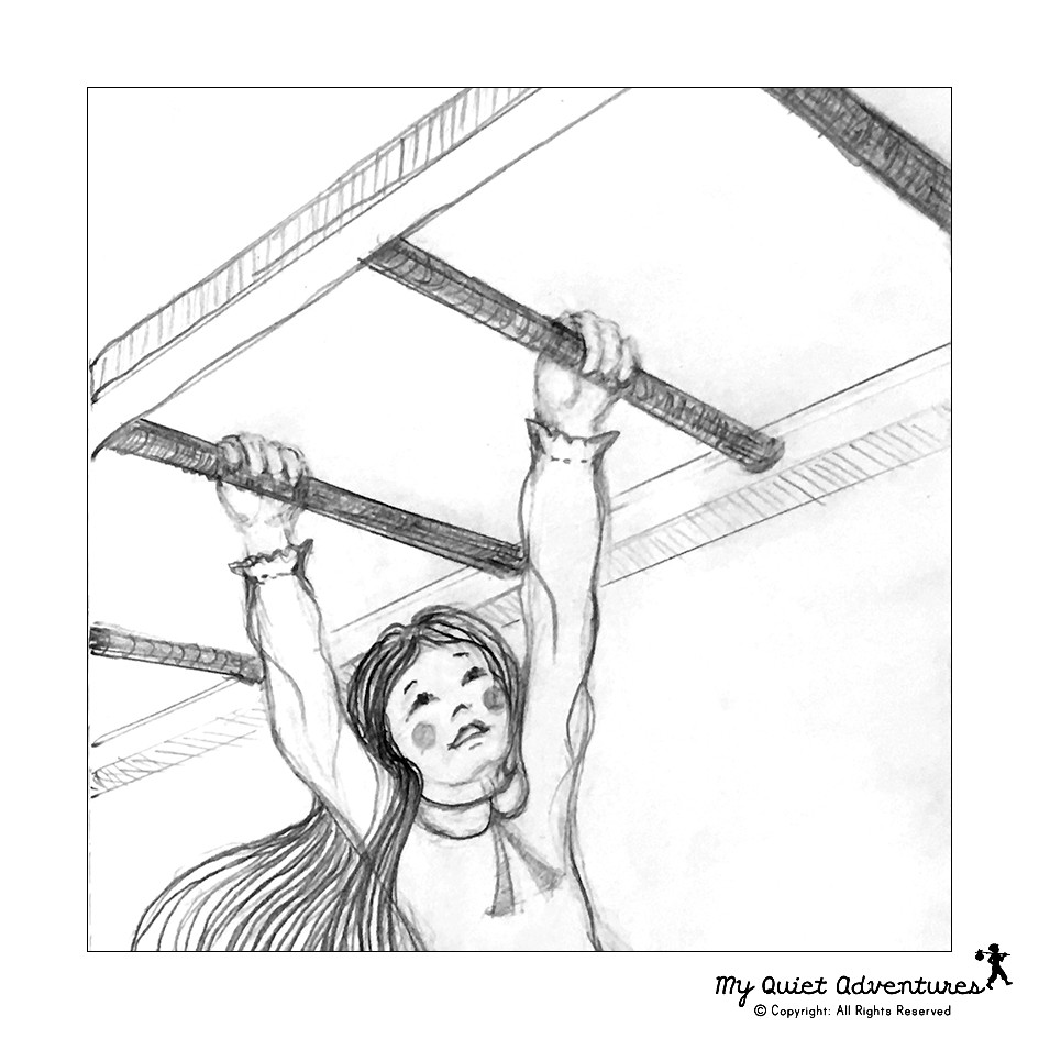 Sketchy Sunday by My Quiet Adventures - Picture Books for Highly Sensitive Children - Don't give up