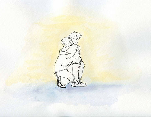 My Quiet Adventures, Picture Books for Highly Sensitive Children - Excerpt from the picture book All Too Much for Oliver (picture book for highly sensitive children)