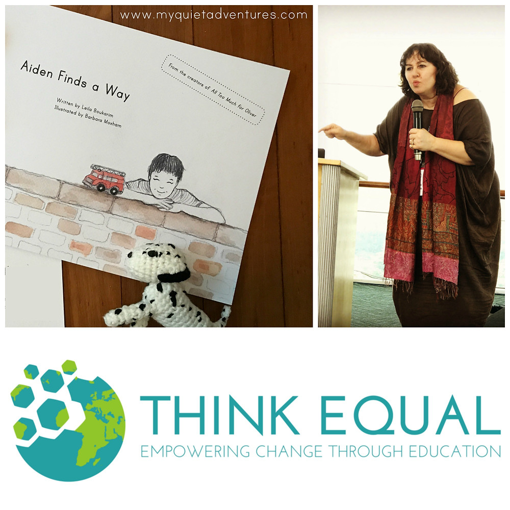 Aiden finds a way joins think equal, highly sensitive child, empathy, education