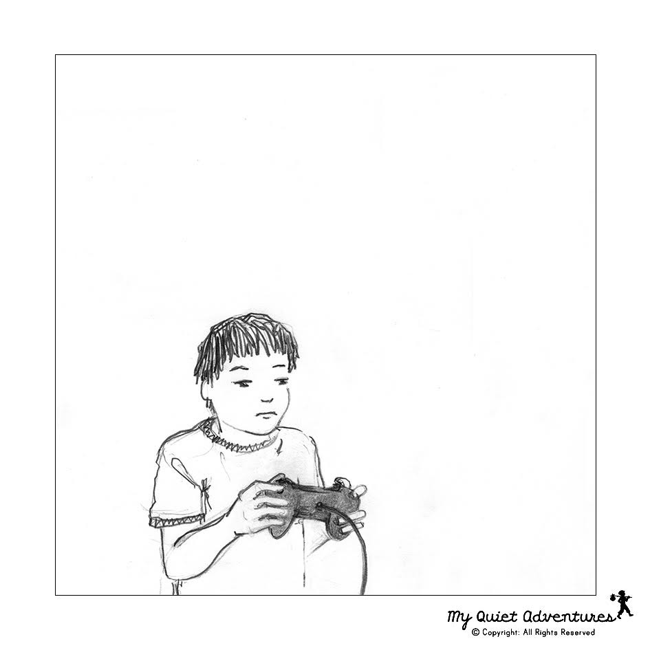 To Tech or Not to Tech - Sketchy Sunday by My Quiet Adventures - Picture books for highly sensitive children - HSC