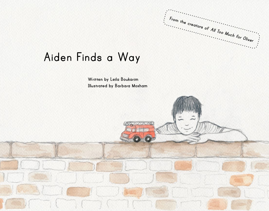 Aiden Finds a Way - a picture book by My Quiet Adventures