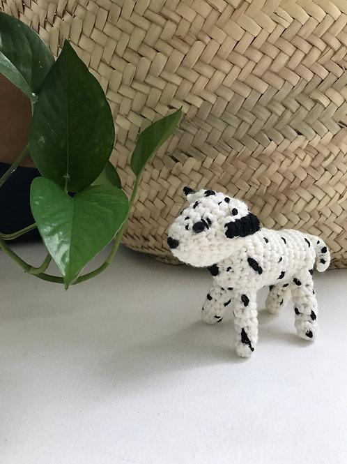 Dalmatian Puppy - Handmade Crochet Doll