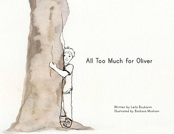 My Quiet Adventures - Picture Books for Highly Sensitive Children - All Too Much for Oliver