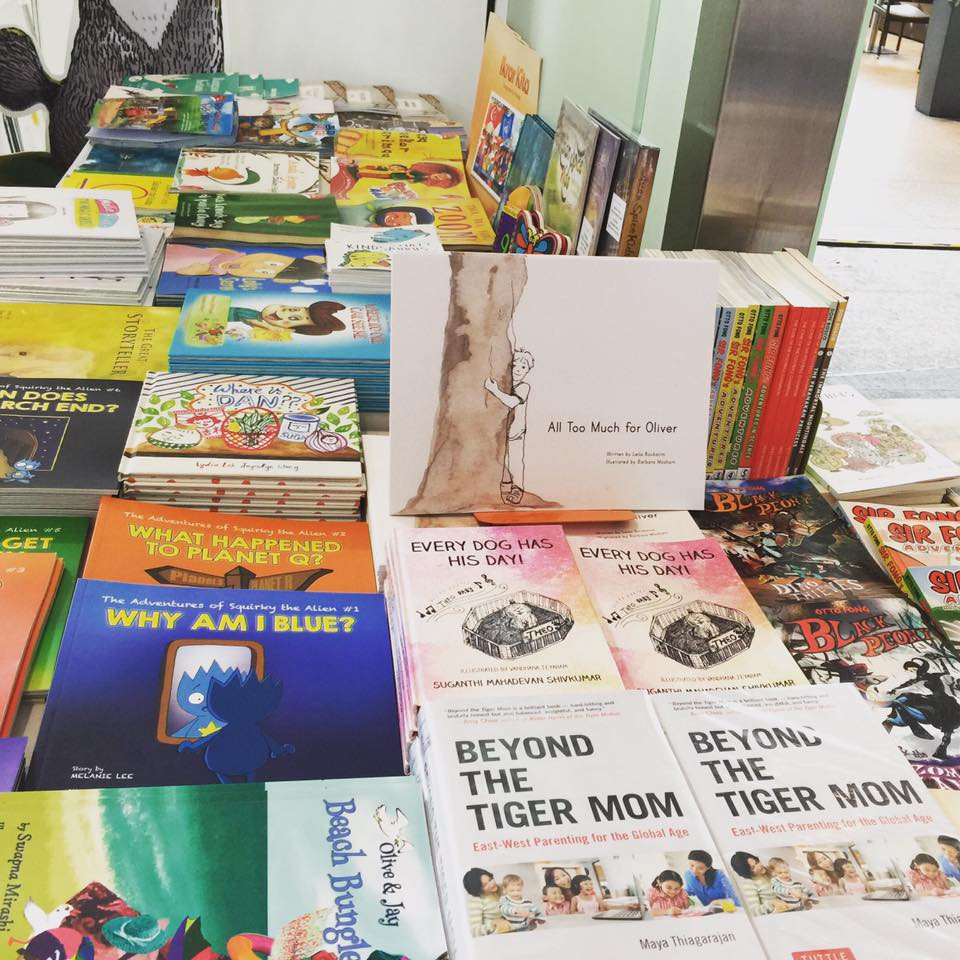 All Too Much for Oliver at the AFCC - My Quiet Adventures, Picture Books for the Highly Sensitive Child