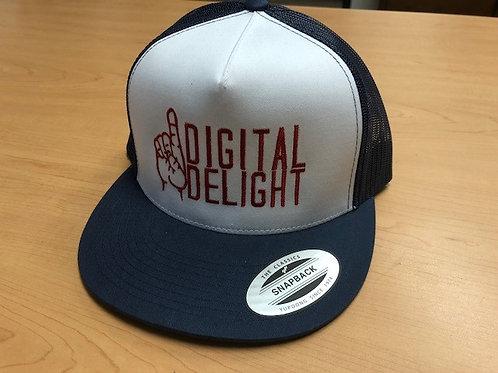 Digital Delight Snapback Hat