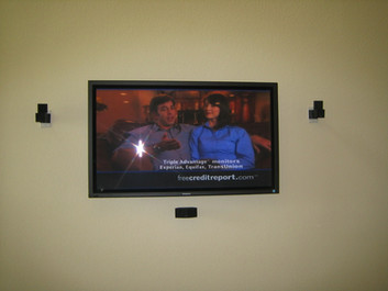 Bedroom TV Mount w/ BOSE Lifestyle System