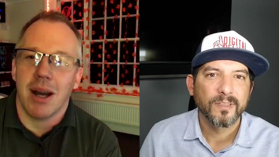The Digital Ramble live from Houston, Texas and Norwich, England. This week JJ Canon and Kris Gamble discuss Home Security upgrades using smart tech, GAFA launching new devices and Customised add Nanoleaf to their office lights. #smarthome #hometech