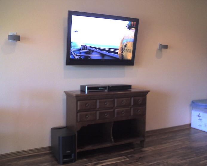 Bose Lifestyle & TV Mount Installation