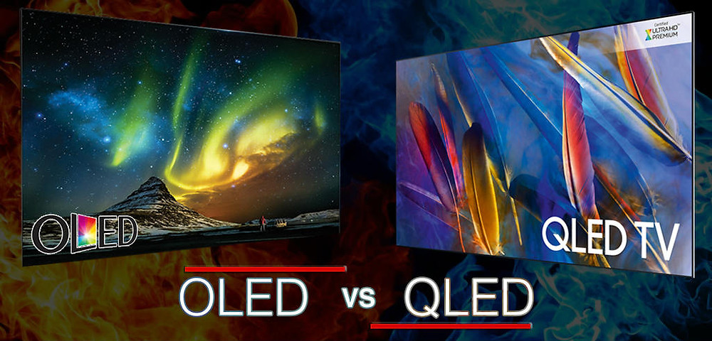 Click To Learn The Difference Between OLED vs. QLED