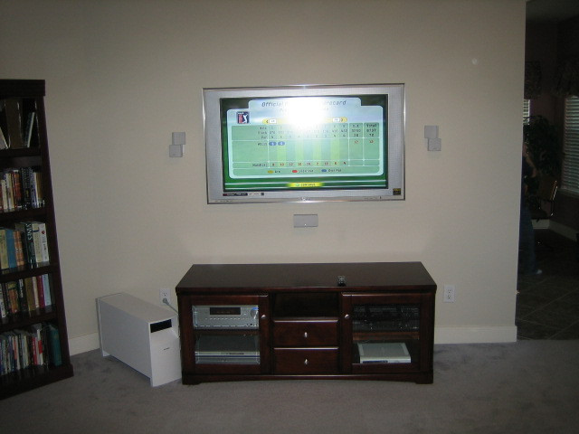 2007 Bose & TV Installation