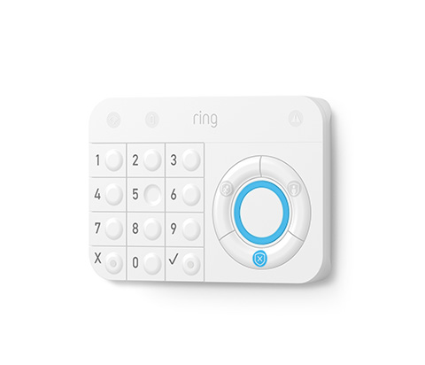 Indoor control panel and keypad for Ring Protect.  $50