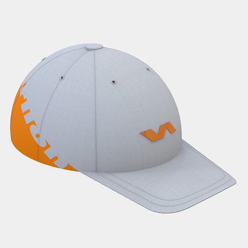 Varlion Team キャップ 白-オレンジ
