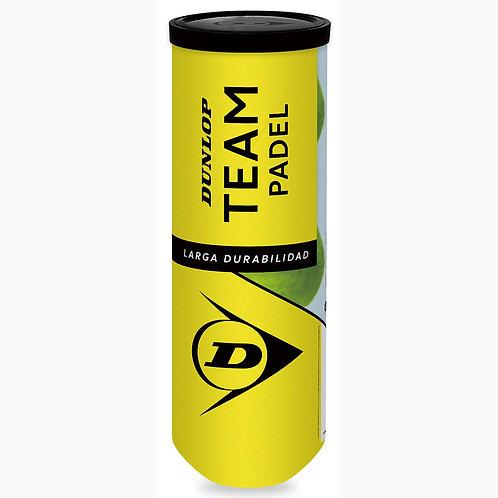 Dunlop Team Padel ball3球
